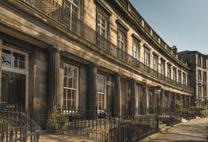 Edinburgh's Nowy miasteczko Zdjęcie Royalty Free