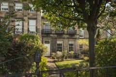 Edinburgh's Nowy miasteczko Zdjęcia Royalty Free