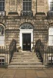 Edinburgh's ny stad Arkivfoton