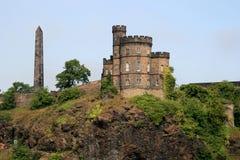 edinburgh Шотландия Стоковая Фотография