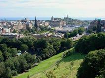 edinburgh Шотландия Стоковые Фотографии RF