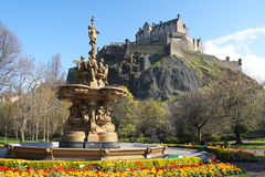 Edinburgh Stockbild