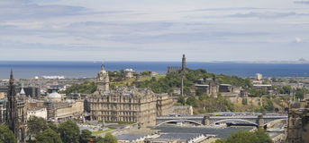 Edinburgh stock fotografie