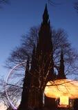 Edinburgh Amusements Stock Photo