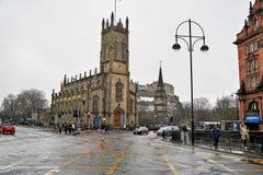 Edinburgh, Ansicht der Stadt, einiger Monumente und des Schlosses, Lizenzfreies Stockbild