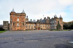 Edinburgh, Ansicht der Stadt, einiger Monumente und des Schlosses, Lizenzfreie Stockfotografie
