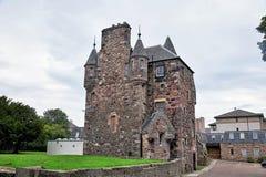 Edinburgh, Ansicht der Stadt, einiger Monumente und des Schlosses, Stockfoto