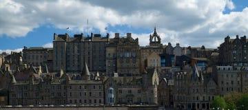 Edinburgh-Ansicht und -architektur stockfoto