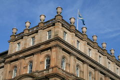 Edinburgh Architecture. A typical building in the centre of Edinburgh Royalty Free Stock Photography