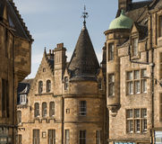 Edinburgh Architecture. In Scotland, UK Royalty Free Stock Image
