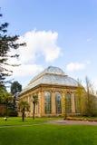 Edinburgh botanic garden in Spring, Scotland Stock Image