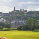 Edinburgh Calton Hill Stock Photos