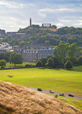 Edinburgh Calton Hill Royalty Free Stock Photography
