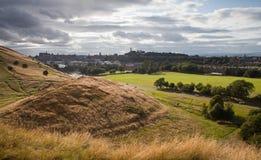 Edinburgh Calton Hill Stock Photography