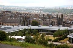 Edinburgh from Calton Hill , UK Royalty Free Stock Photography