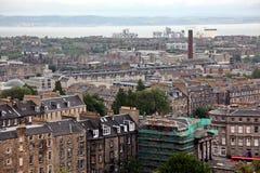 Edinburgh from Calton Hill , UK Royalty Free Stock Photo