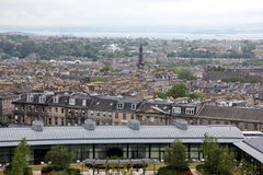 Edinburgh from Calton Hill , UK Stock Image
