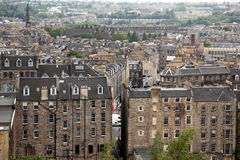 Edinburgh from Calton Hill , UK Royalty Free Stock Photography