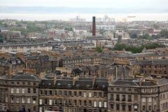 Edinburgh from Calton Hill , UK Royalty Free Stock Images