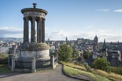 Edinburgh Calton Hill Stock Image