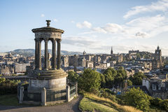 Edinburgh Calton Hill Royalty Free Stock Photos