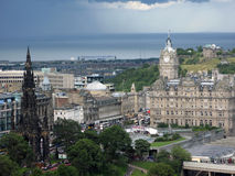 Edinburgh, the capital of Scotland. Royalty Free Stock Photography