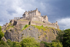 Edinburgh castel Royalty Free Stock Photo