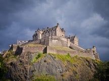 Edinburgh castel Stock Images