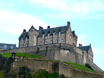 Edinburgh Castle. In Scotland, England Stock Photo