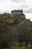 Edinburgh Castle. The Castle of Edinburgh in Scotland Royalty Free Stock Image