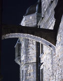 Edinburgh Castle Arch At Night Royalty Free Stock Photo