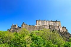 Edinburgh Castle on a beautiful clear sunny day Stock Photography