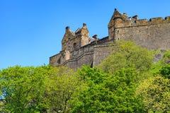 Edinburgh Castle on a beautiful clear sunny day Stock Image
