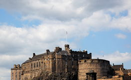 Edinburgh Castle by day. Scotland. UK. Royalty Free Stock Image