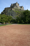 Edinburgh castle edinburgh scotland Royalty Free Stock Photos