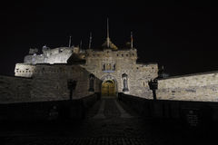 Edinburgh Castle entrance, Edinburgh, Scotland Royalty Free Stock Photography