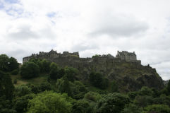 Edinburgh Castle Stock Image