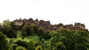 Edinburgh Castle - the iconic scottish tourist attraction Stock Images