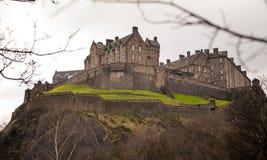 Edinburgh castle. Photography of Edinburgh castle, Scotland UK Royalty Free Stock Photos