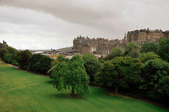 Edinburgh Castle, Scotland Stock Image