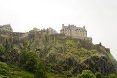 Edinburgh Castle, Scotland. Edinburgh Castle on a hill top,  Scotland Royalty Free Stock Images