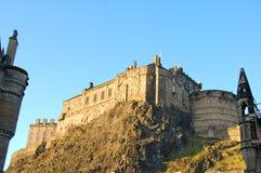 Edinburgh Castle, Scotland. A view of Edinburgh Castle in Scotland on a lovely summer day Royalty Free Stock Photos