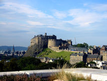 Edinburgh Castle, Scotland. View of Edinburgh Castle, Scotland stock photos
