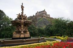Edinburgh castle, Scotland Stock Photography
