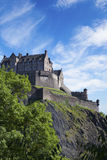 Edinburgh Castle in Scotland. Stock Photos