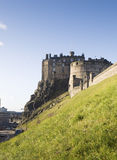 Edinburgh Castle in Scotland Stock Photo
