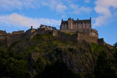 Edinburgh Castle Scotland Royalty Free Stock Images