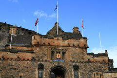 Edinburgh castle in Scotland Stock Photos