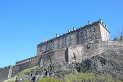 Edinburgh Castle, Scotland Stock Images