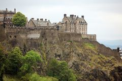 Edinburgh Castle, Scotland, GB Royalty Free Stock Photography